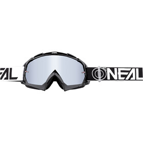 O'Neal B-10 Goggles twoface black/white-mirror silver